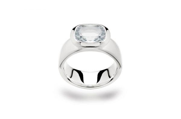 Bastian Ring 925 Silber mit Rauchquarz