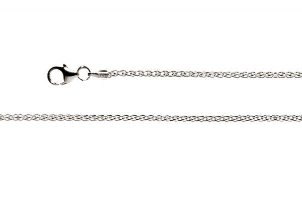 Bastian Collierkette 925 Silber Rhodiniert - 9128004580