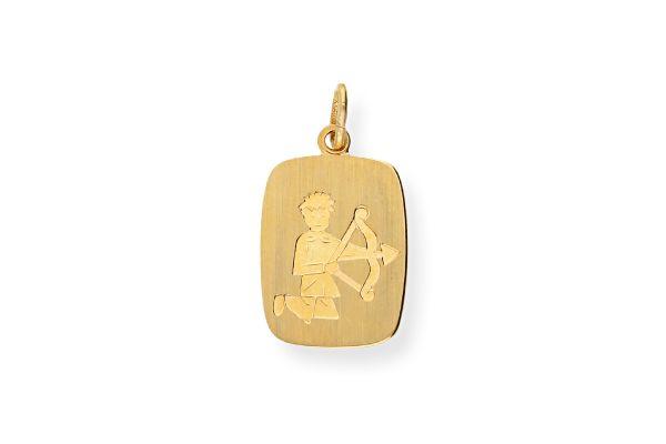 Sternzeichen Schütze - Anhänger 333 Gold