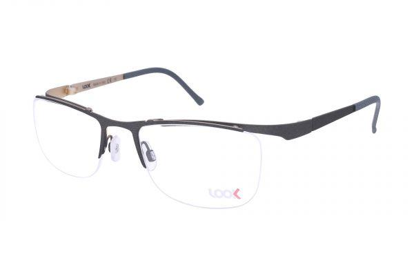 Sportlich gebogene LOOK Brille 10442 M3