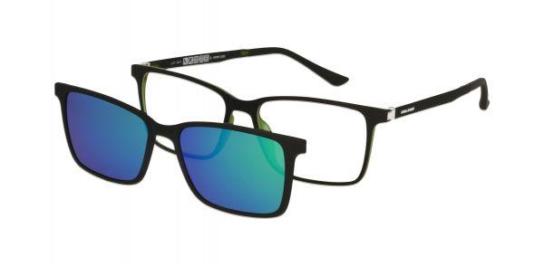 Solano Brille CL90121 E mit polarisiertem Magnet Sonnenclip