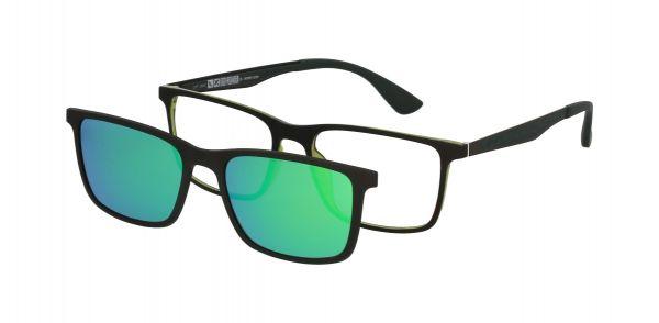 Solano Brille CL90133 D mit polarisiertem Magnet Sonnenclip