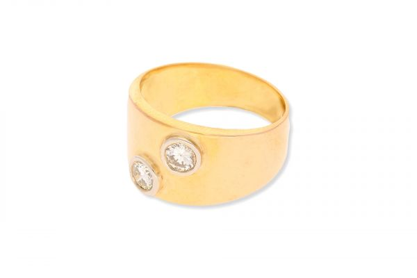 Ring 750 Gelbgold • Brillanten