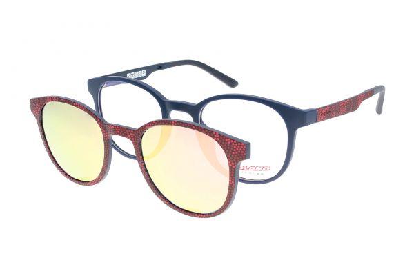 Solano Brille CL50017 A mit polarisiertem Magnet Sonnenclip
