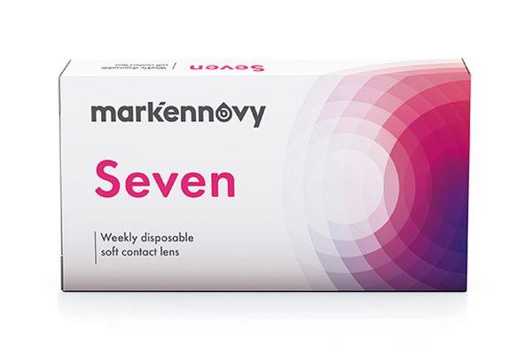 mark'ennovy Seven Wochen-Kontaktlinsen - Sphärisch 12 St.