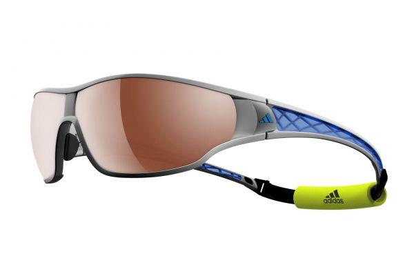 Adidas TYCANE PRO • a189 6053 Silvermet / Blue • Seitenansicht