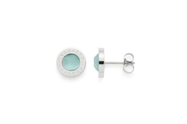 Leonardo Ohrstecker Matrix CatEye Mint 015786