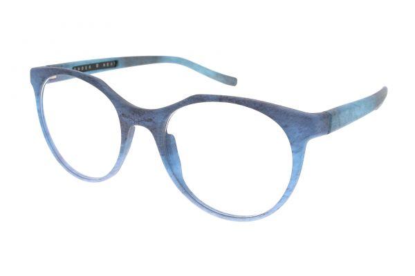 Powder & Heat Brille 321 The Eagle Eyes 17025 blue - Seitenansicht
